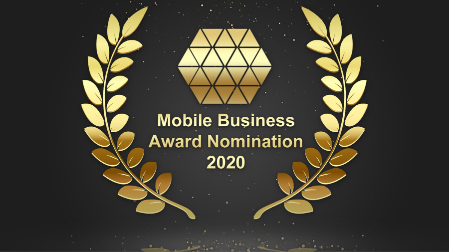 Nominierung für den Mobile Business Award 2020